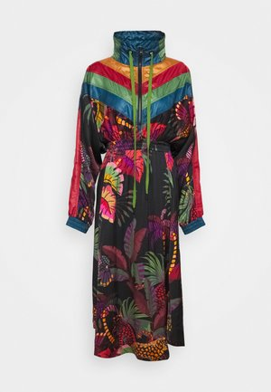 JUNGLE COLORS MIDI DRESS - Vestido informal - multi
