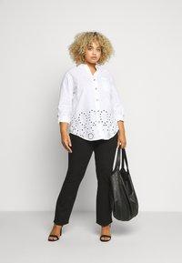 River Island Plus - Button-down blouse - white - 1