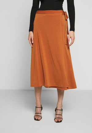 ALTEA - A-line skirt - brick