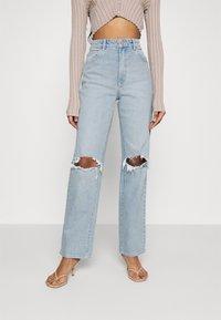 Abrand Jeans - Jeans straight leg - light blue denim - 0