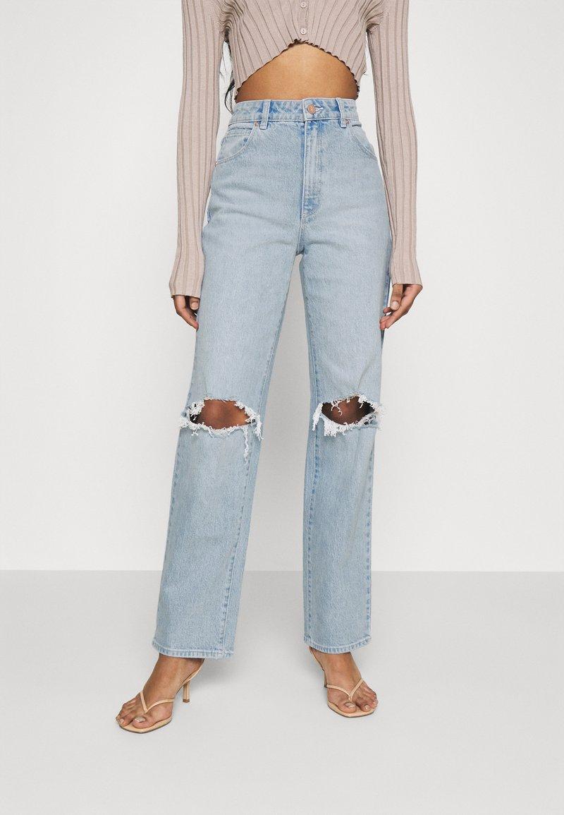 Abrand Jeans - Jeans straight leg - light blue denim