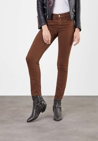 MAC Jeans - Trousers - brown - 0