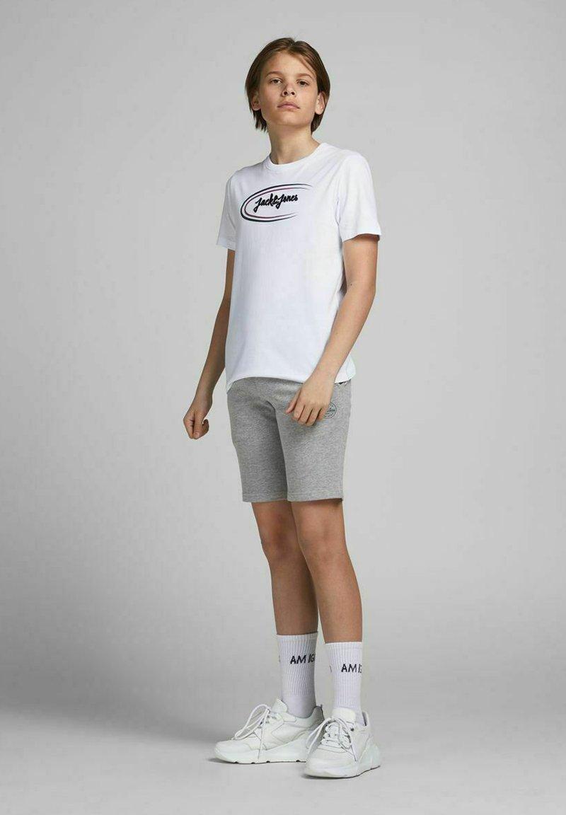 Jack & Jones Junior - 2 PACK - Shorts - light grey melange