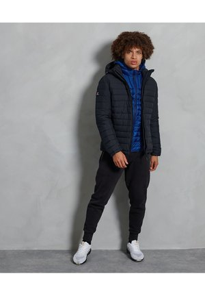 FUJI  - Winter jacket - darkest navy