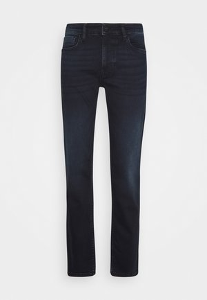 Jeans straight leg - blue-black denim