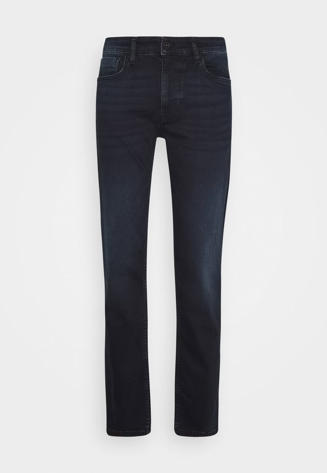 Straight leg jeans - blue-black denim
