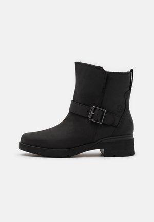 GRACEYN WP - Cowboy/biker ankle boot - black
