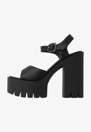 JALILA - High heeled sandals - black