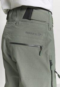 Norrøna - LOFOTEN GORE TEX PRO PANTS - Pantaloni da neve - grey - 3