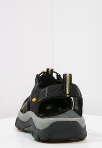 Keen - NEWPORT H2 - Sandały trekkingowe - black - 3