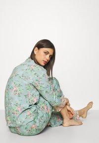 Marks & Spencer London - FLORAL  - Pyjamas - aqua mix - 3
