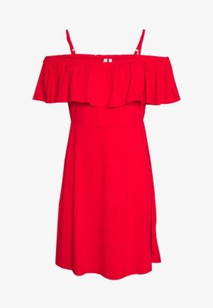 PCARIZONA OFF SHOULDER DRESS - Robe en jersey - goji berry