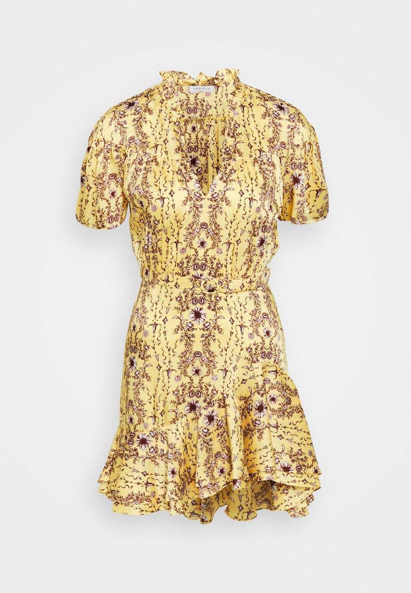 sandro - SFPRO - Vapaa-ajan mekko - jaune