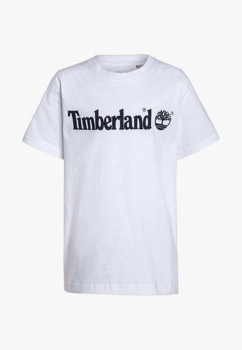 Timberland - Triko spotiskem - blanc