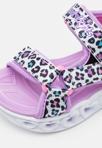 Skechers - HEART LIGHTS - Sandals - white/multicolor - 5