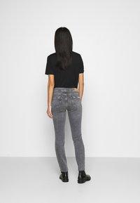 Marc O'Polo DENIM - ALVA REGULAR - Slim fit jeans - multi/pigeon mid grey - 2