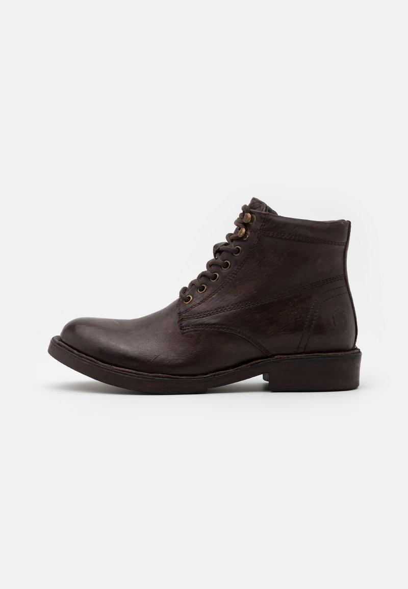 Lumberjack - ROY - Šněrovací kotníkové boty - dark brown