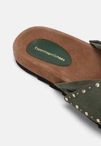 Copenhagen Shoes - NOVA  - Mules - lagoon green - 5