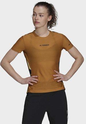 TERREX PARLEY AGRAVIC PRO - Print T-shirt - brown