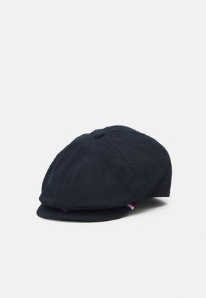 HERRINGBONE FLAT - Hat - blue