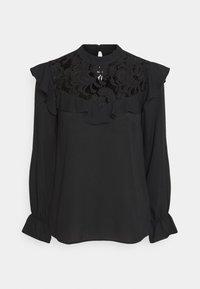 Wallis - RUFFLE - Long sleeved top - black - 6