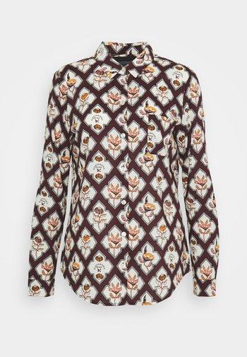 REGULAR FIT SHIRT - Button-down blouse - combo