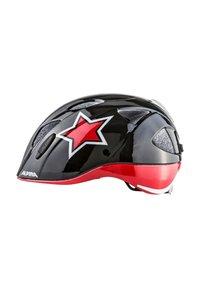 Alpina - XIMO FLASH - Helm - black-red-white star - 1