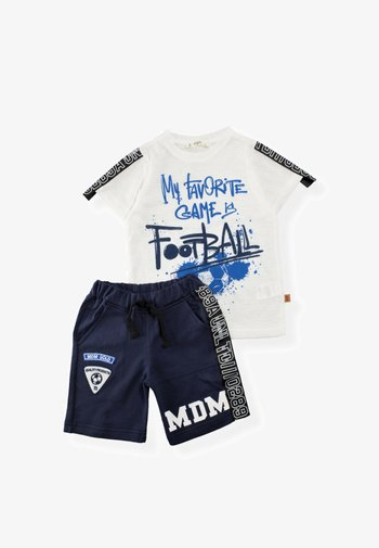 SET - Shorts - off-white, light blue