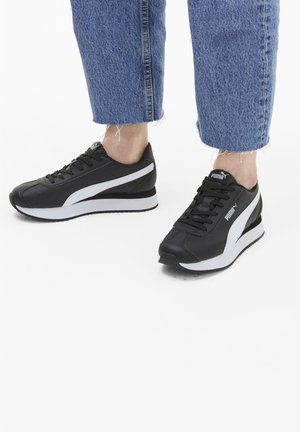 TURINO STACKED - Sneakers basse - puma black-puma white