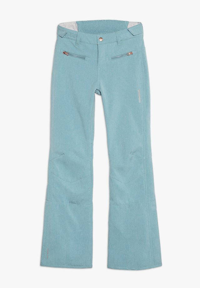 GIRLS PANT - Pantalón de nieve - polar blue