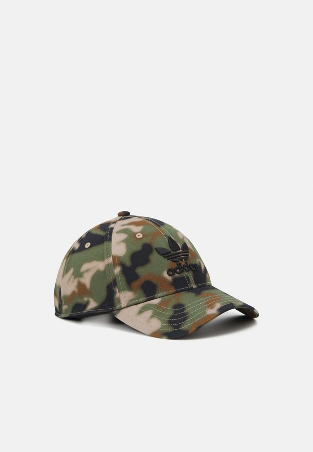 CAMO UNISEX - Cap - black