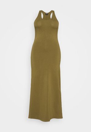 LADIES LONG RACER BACK DRESS - Maxi dress - summer olive
