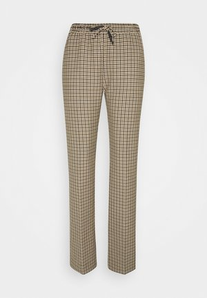 LORA PANTS - Trousers - brown