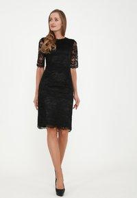 Madam-T - TROPICANA KR - Cocktail dress / Party dress - schwarz - 1