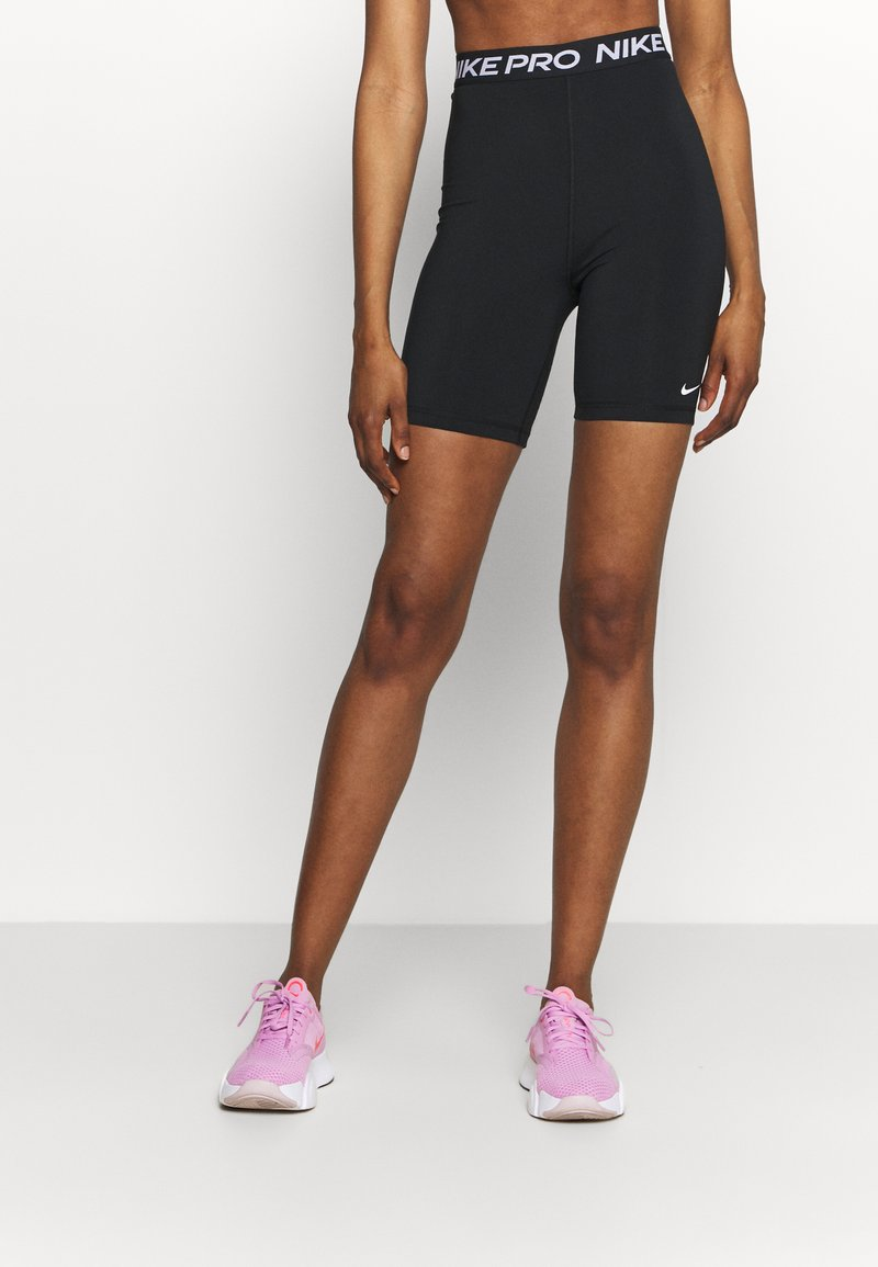 Nike Performance - 365 SHORT HI RISE - Leggings - black