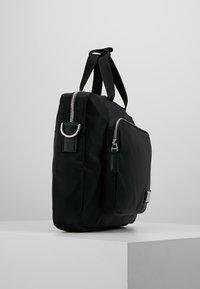 Calvin Klein - PRIMARY GUSSET LAPTOP BAG - Aktovka - black - 3
