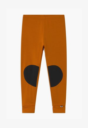PATCH UNISEX - Leggings - Trousers - earth brown/black