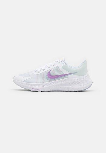 WINFLO 8 - Zapatillas de running neutras - white/infinite lilac/football grey/violet shock/green glow/laser orange
