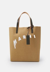 SHOPPING BAG - Cabas - cement/natural white/thyme