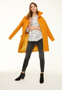 comma casual identity - Button-down blouse - grey graffity aop - 0