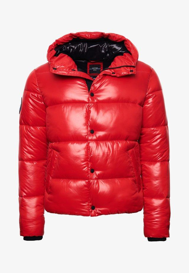 Winterjas - rouge red