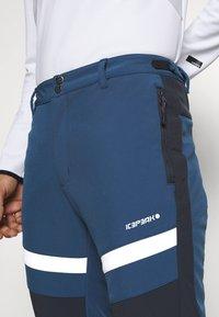 Icepeak - FLEMING - Snow pants - blue - 3