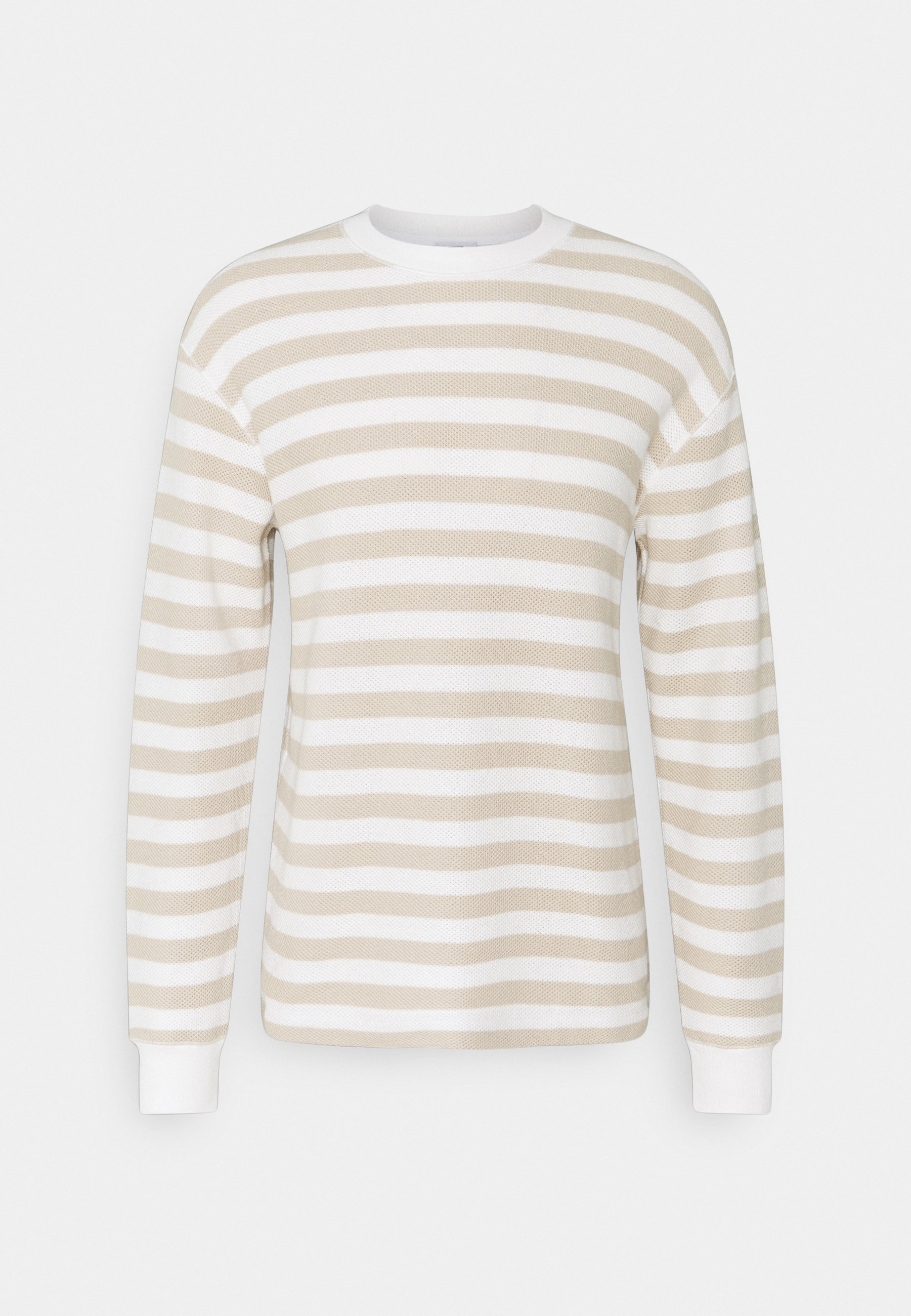 Homme STRIPED LONGSLEEVE - Pullover