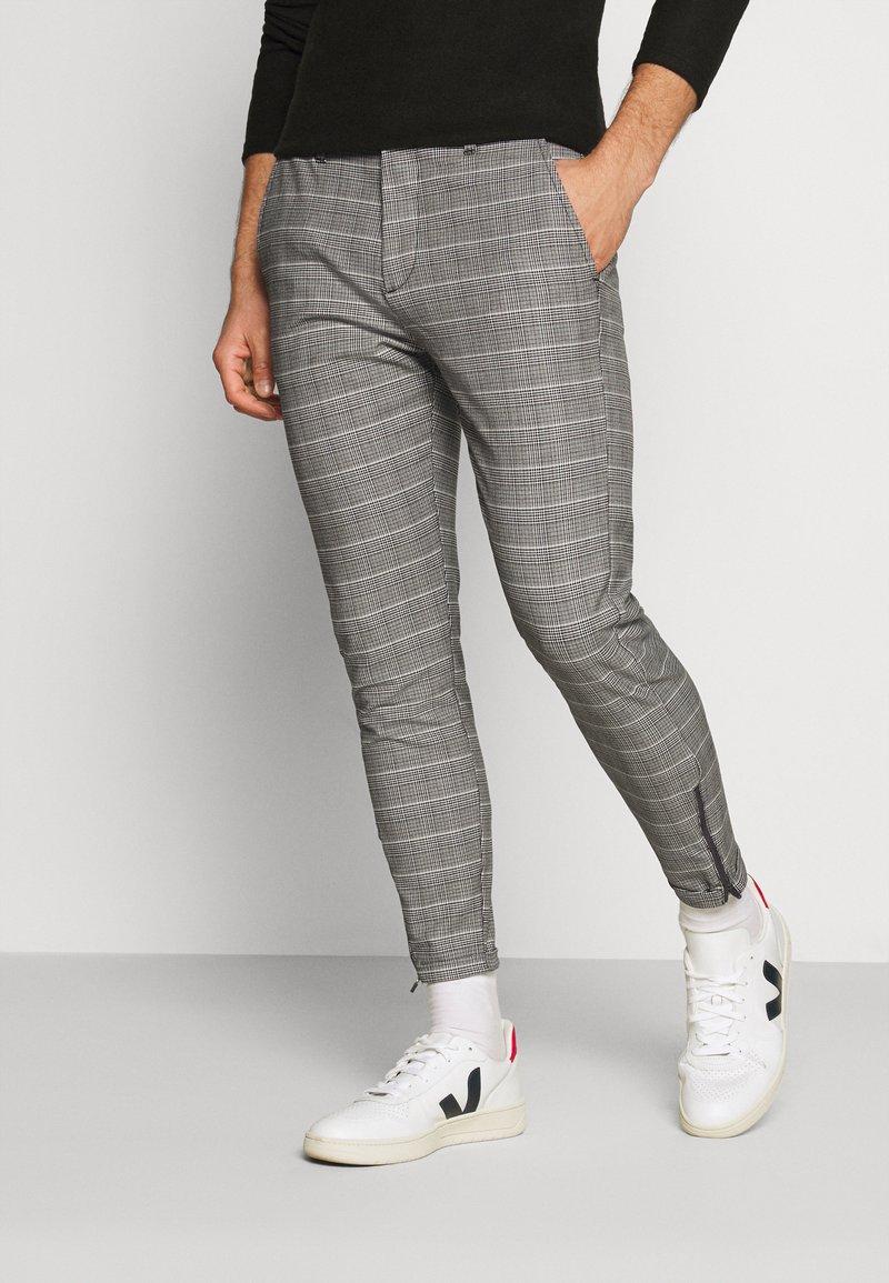Gabba - PISA PETIT CHECK - Trousers - brown