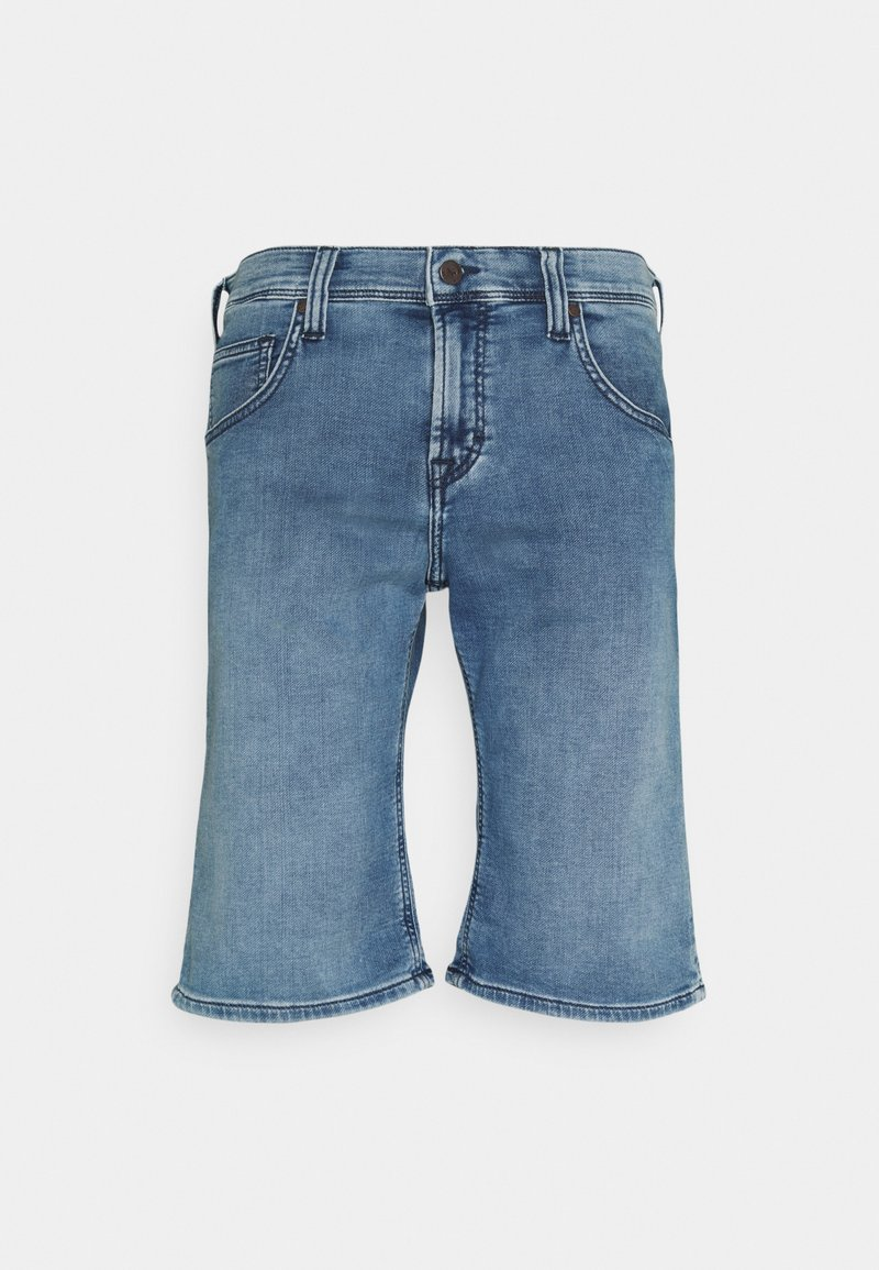 Mustang - CHICAGO  - Denim shorts - denim blue