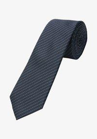 s.Oliver BLACK LABEL - Bow tie - dark blue jacquard - 0