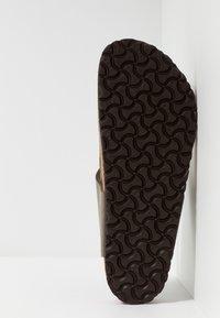 Birkenstock - GIZEH - T-bar sandals - stone - 4