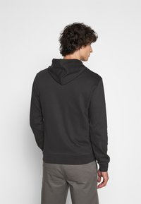 Emporio Armani - ZIPPED HOODIE  - Sweatjacke - dark grey - 2