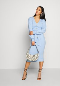 Glamorous - MIDI SKIRT - Kokerrok - light blue - 1