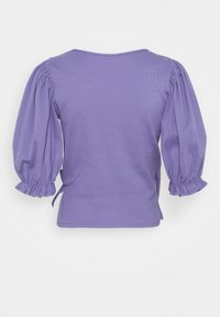 Monki - ULLA  - Print T-shirt - lilac purple medium dusty - 7